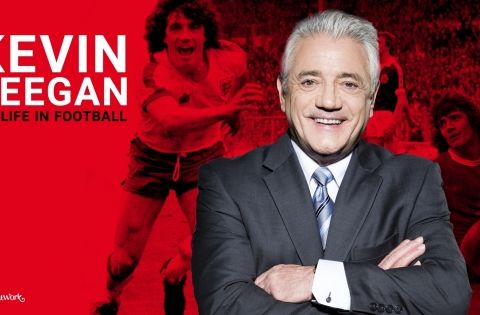 Utsatt - ny dato kommer. Kevin Keegan: My life in football